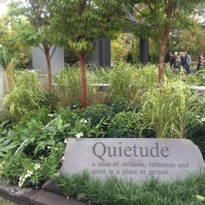 'Quietude' by Cycas Landscape Design and Lisa Ellis Gardens